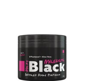 Maxy Blend Máscara Maxy Black Intense Blond Platinum Matizador 500g