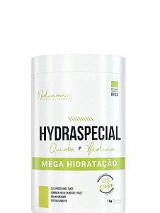 Naturiam Hydraspecial Quiabo + Biotina Mega Hidratação 1kg