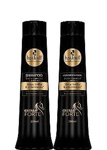 Haskell Cavalo Forte Kit Shampoo e Condicionador Crescimento Capilar 500ml