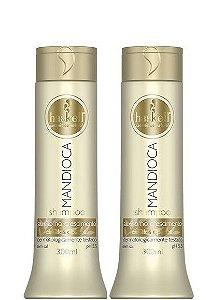 Haskell Mandioca Shampoo e Condicionador Cabelos Opacos 300ml