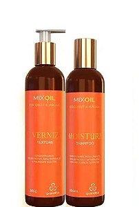 Kit Grandha Mix Oil Coconut & Argan Shampoo e Condicionador