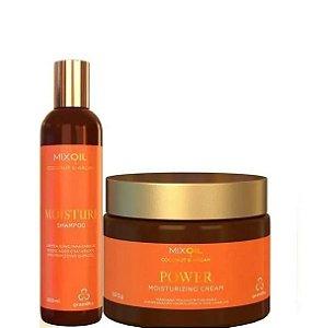 Grandha Mix Oil Coconut & Argan Shampoo e Máscara Power