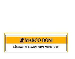 Marco Boni Lâminas Platinum Para Navalhete 5 Lâminas  Ref 9503B