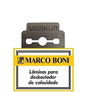 Marco Boni Lâminas Para Desbastador de Calosidade 08 Lâminas Ref 9500