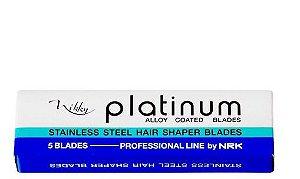 Marco Boni Vikky Platinum Lâmina De Reposição Para Navalhete Com 5 Uni Ref 9504