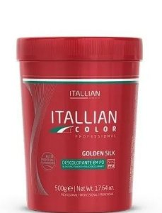 Itallian Pó Descolorante Golden Silk Pro - Branco 500g