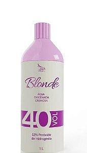 Zap Blonde Água Oxigenada Cremosa 40 Volumes 900ml