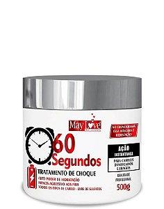 May Love Tratamento de Choque 60 Segundos 500g OUTLET