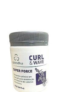 Grandha Curl e Wave Super Force Permanente Afro 240g