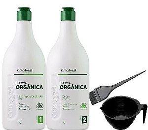 Onixx Brasil Escova Progressiva Orgânica 2x1Litro