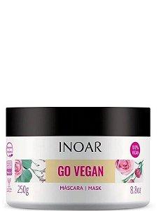 Inoar Go Vegan Máscara Óleo de Rícino e Rosa Mosqueta 250g