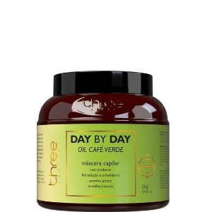 Three Therapy Máscara Day By Day Oil Café Verde Pantovin 1kg