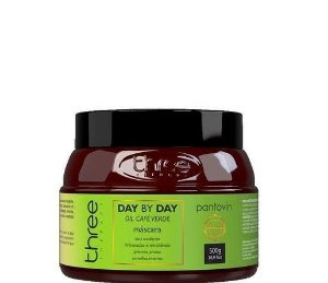 Three Therapy Máscara Day By Day Café Verde Pantovin 500g