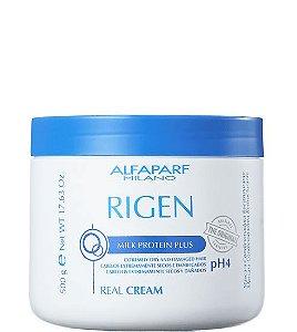 Alfaparf Rigen Milk Protein Plus Real Cream Máscara Condicionadora 500g