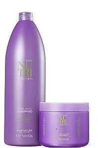 Alfaparf Nutri Seduction Ultra Moist Shampoo 1L e Moisture Treatment 500g