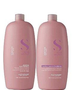 Alfaparf Semi Di Lino Moisture Nutritive Low Shampoo e Condicionador 2x1l