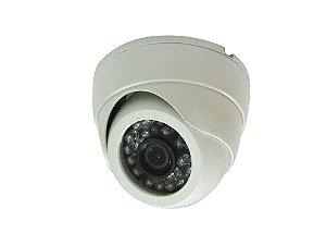 Câmera Dome Infravermelho Análogica 1000 linhas 3,6mm