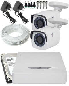 KIT 2 CAMERAS HD TVI CD 720P CD 3220 JFL