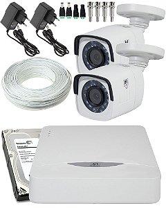 KIT 2 CAMERAS HD TVI CD 720P CD 3220 JFL