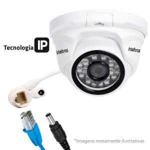 Cãmera Ip Dome 1 Mp Vip 1120 D Intelbras