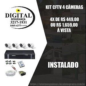 Kit CFTV 4 Câmeras