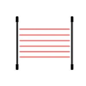 Sensor Barreira IRB-1210 12 Feixe 100MTS - JFL