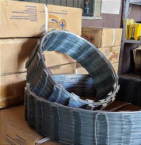 Caixa Concertina 30cm Simples Prata Forte 6M