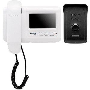 Vídeo Porteiro Intelbras Ivr 1010 Branco Tela LCD 4.3