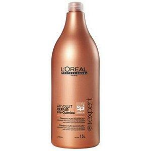 L'Oréal Professionnel Absolut Repair Pós-Química Multi-reconstrutor Shampoo 1,5L