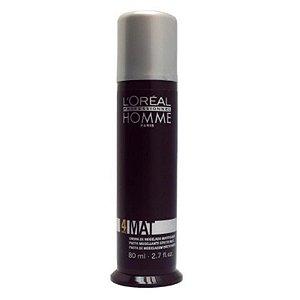 L'Oréal Professionnel Homme Mat Force 4  Pasta de Modelagem Efeito Mate 80ml