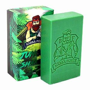 Barba Forte Shampoo em Barra Jungle 130 gr