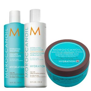 Moroccanoil Moisture Repair Hydrating - Kit contém 3 produtos