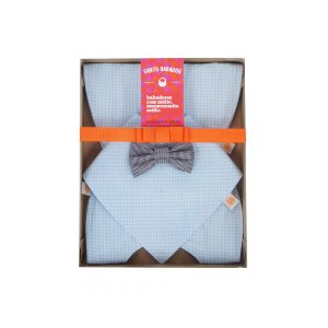Kit Misto Williamsburg Baby Blue + Gravatinha
