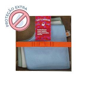 Trio Bandana Colorê Azul Proteção Extra