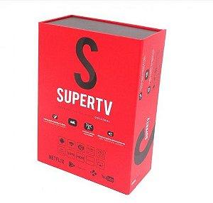 Supertv Vermelho Edition 4K 2GB RAM 16GB