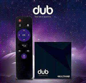 DUB 4K UHD + 3D / WI-FI / ANDROID 7.1.2 / IPTV - (SEM ANTENAS)