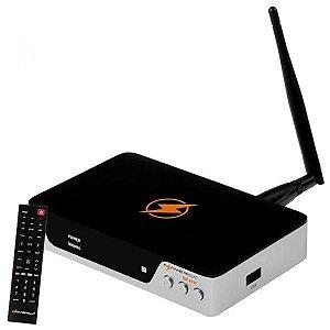 Receptor Azamerica Silver Ultra HD Wi-Fi (Por encomenda)