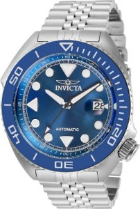 Relógio Invicta Pro Diver 30411 Banho Prata Automático