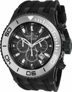 Relógio Invicta Subaqua 24254 Mostrador Preto Texturizado Cx 52mm