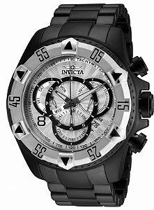 Relógio Invicta Excursion 24268 Banho Preto Cronógrafo Suíço Cx 52mm