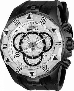 Relógio Invicta Excursion 24278 Banho Preto Cronógrafo Suíço Cx 52mm