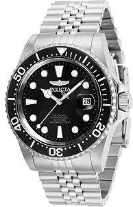 Relógio Invicta Pro Diver 30091 Banho Prata Automático Cx 42mm