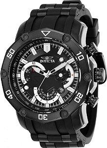 7980b65c36f Relógio INVICTA 22799 Pro Diver 50mm Preto Cronógrafo