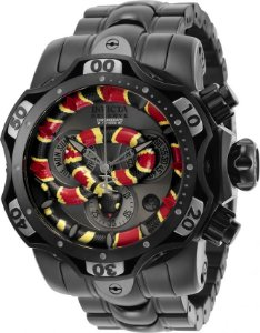 Relogio Invicta Reserve Cobra 30310 Venom 52.5mm Movimento Suíço