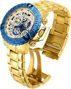 Relógio Invicta 18237 Subaqua Noma II Esqueleto 47mm Edição Limitada Suíço