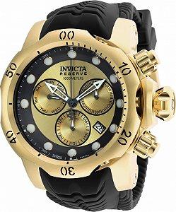 Relógio Invicta 90147 Venom 53.7mm Banho Ouro 18k Suíço