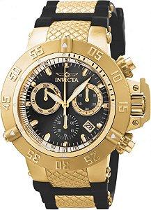 Relógio Invicta Subaqua 5514 Noma 3 Fundo Preto Suíço