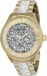 Relógio Invicta Angel 24666 Banho Ouro Feminino