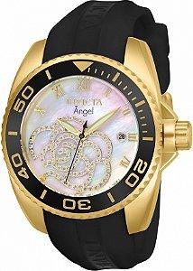 Relógio Invicta Angel 28678 Mostrador Madre Pérola Feminino