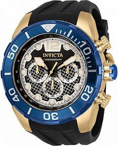 Relógio Invicta Pro Diver 33823 Banho Ouro Sport